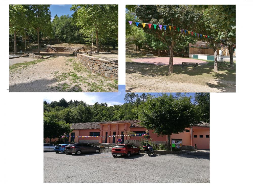 Foyer Rural - Parc Municipal - Théâtre de verdure